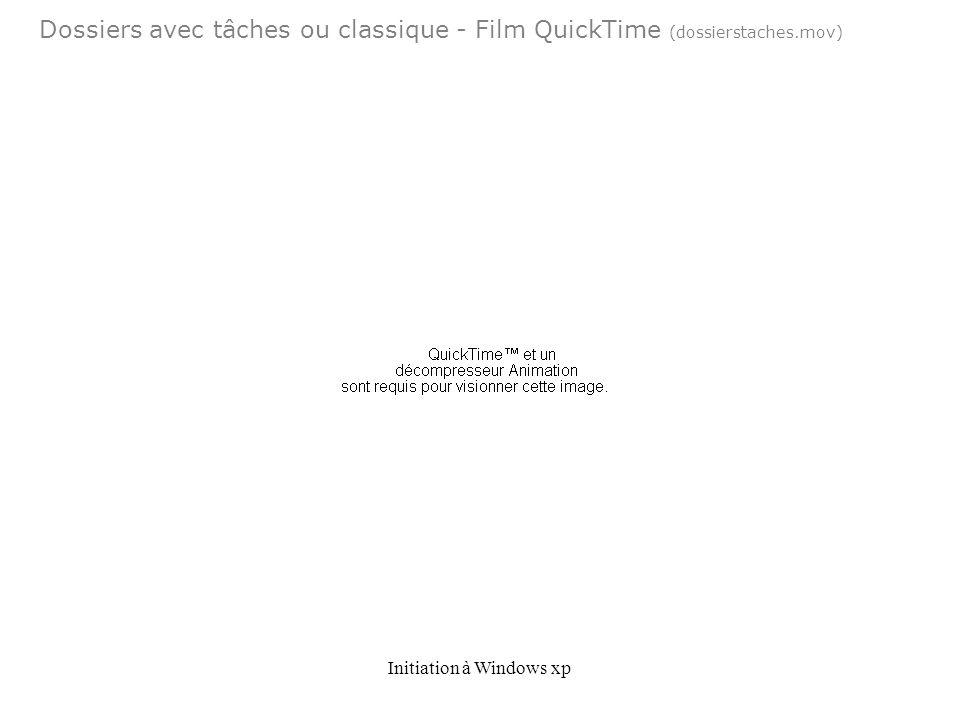Dossiers avec tâches ou classique - Film QuickTime (dossierstaches