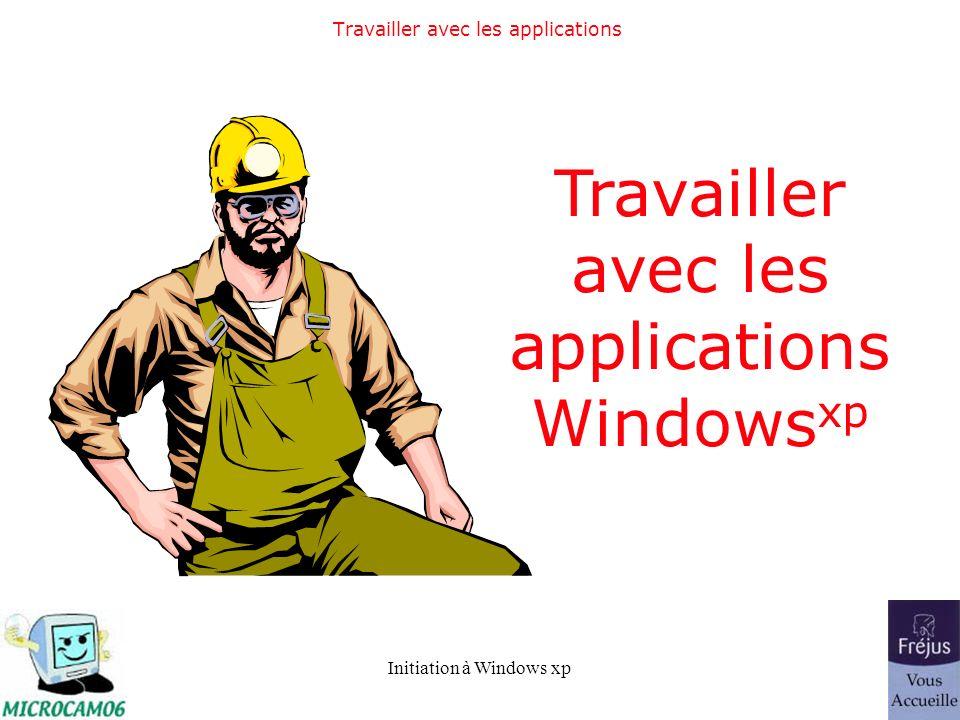 Travailler avec les applications