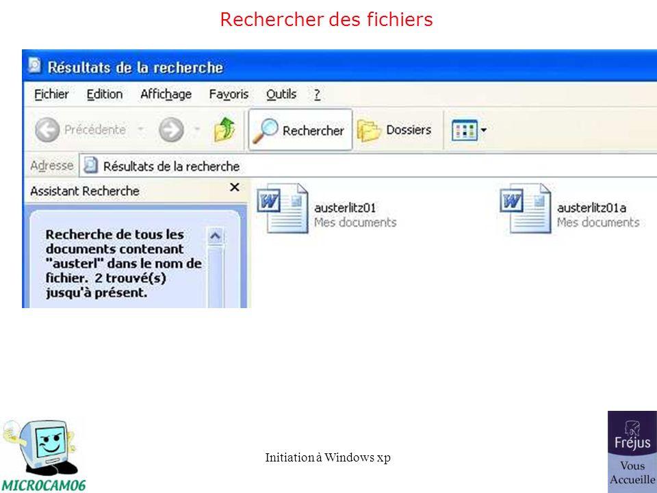 Rechercher des fichiers