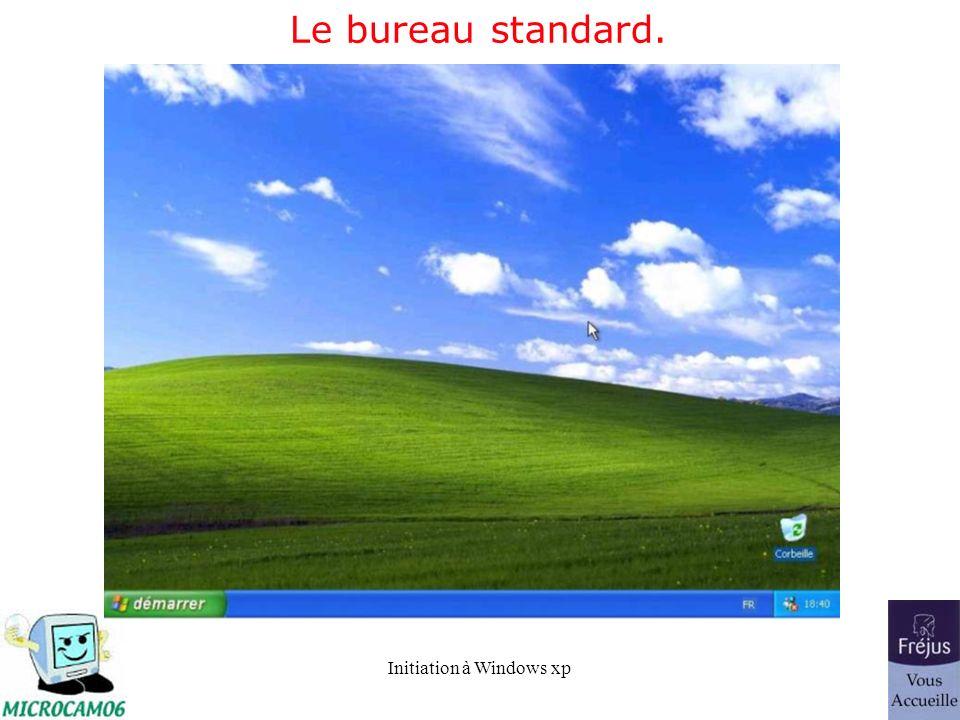 Le bureau standard.