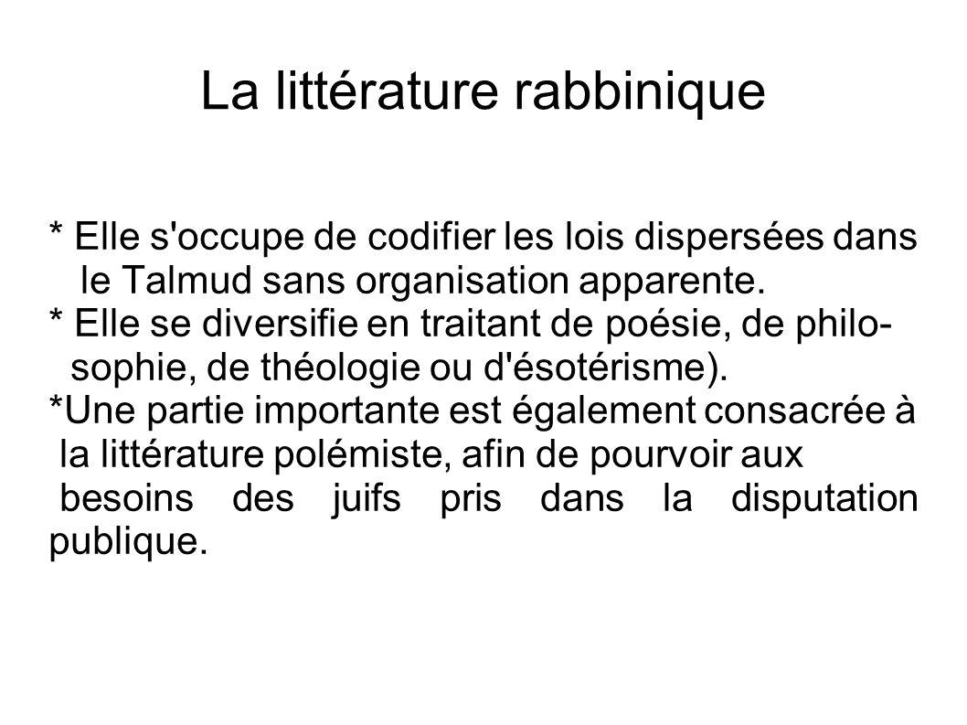 La littérature rabbinique