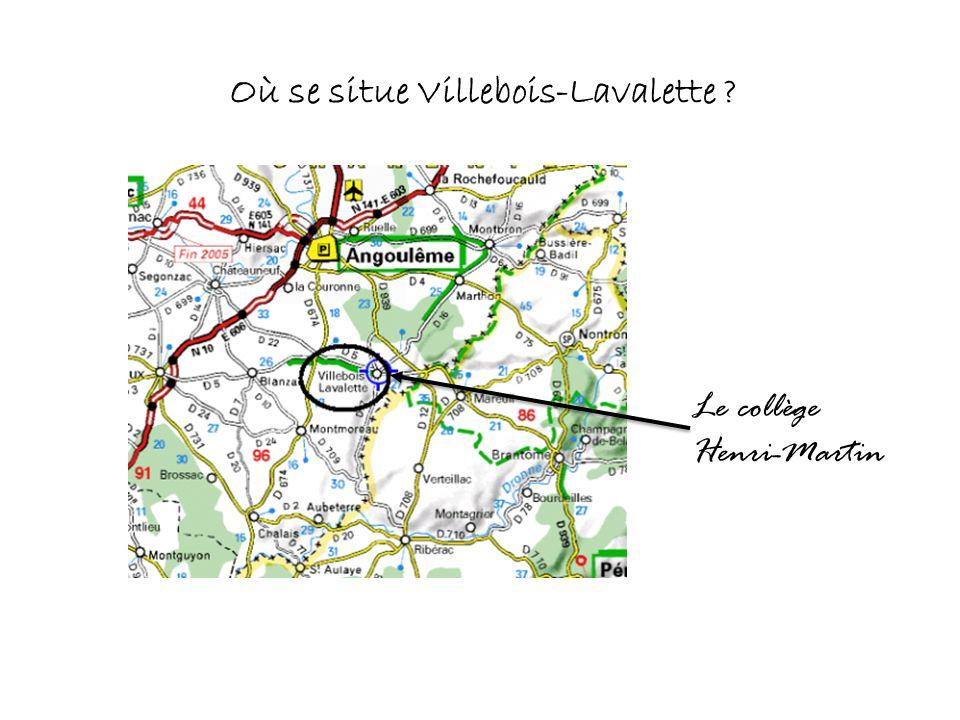 Où se situe Villebois-Lavalette