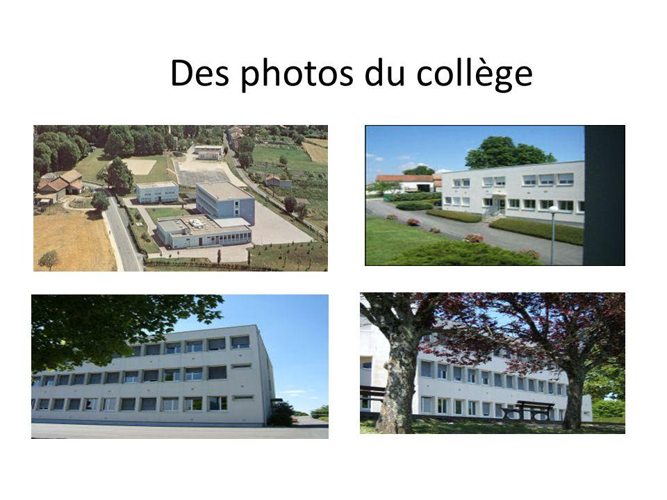 Des photos du collège