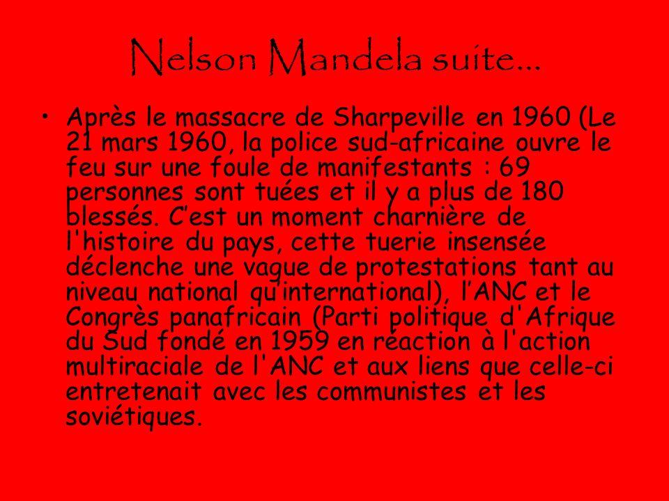 Nelson Mandela suite…