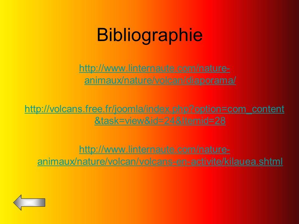 Bibliographie http://www.linternaute.com/nature-animaux/nature/volcan/diaporama/
