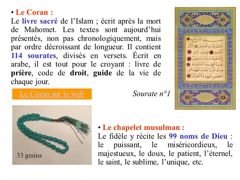 Le Coran :