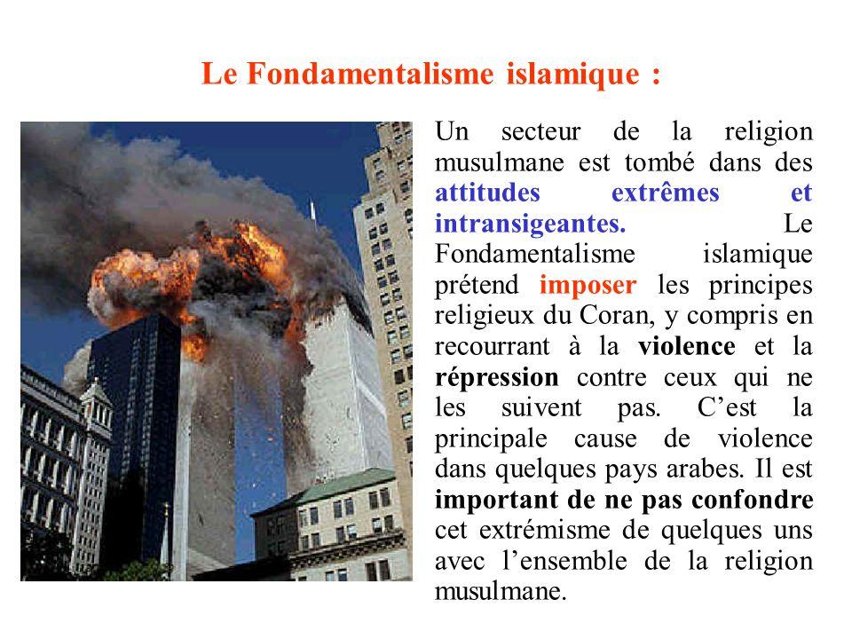 Le Fondamentalisme islamique :