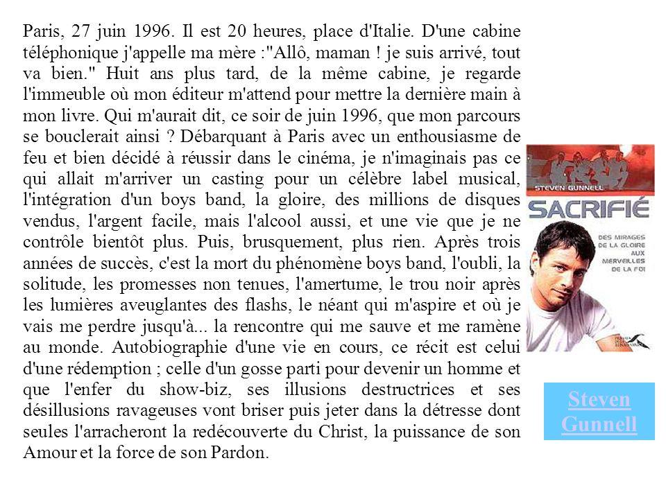 Paris, 27 juin 1996. Il est 20 heures, place d Italie