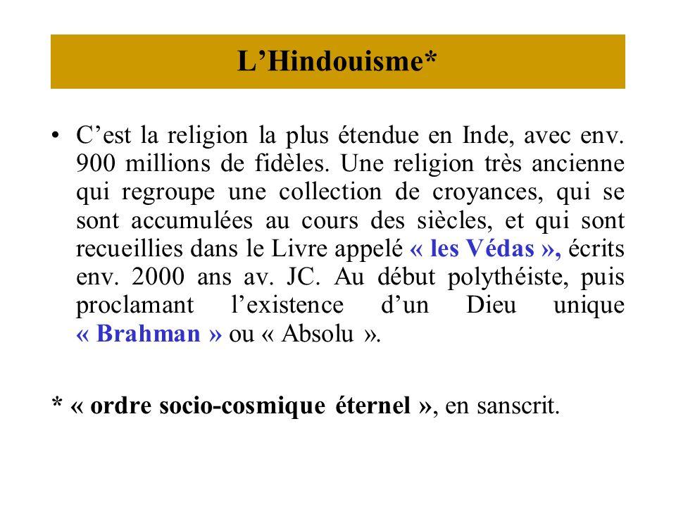 L'Hindouisme*