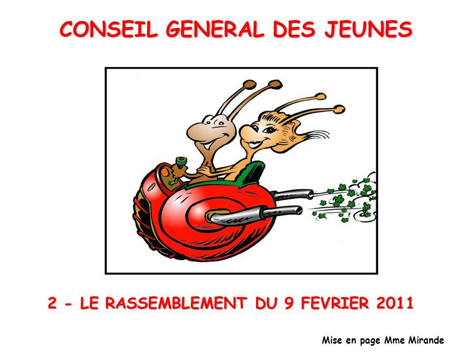 CONSEIL GENERAL DES JEUNES
