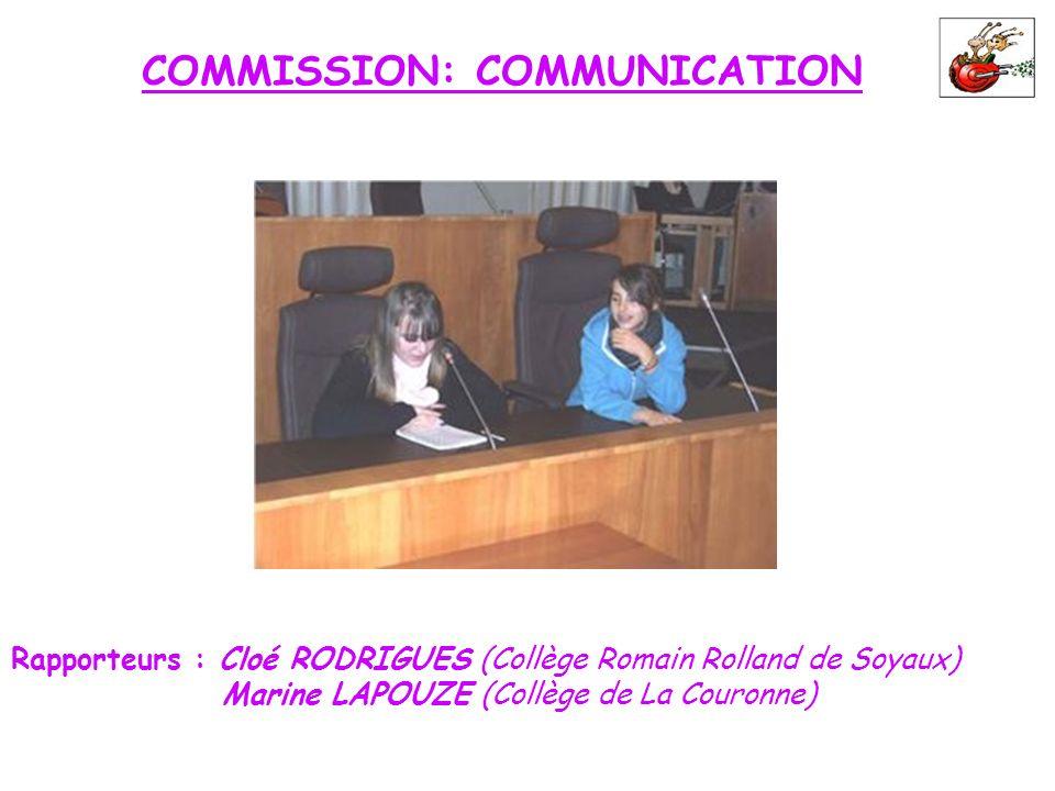 COMMISSION: COMMUNICATION