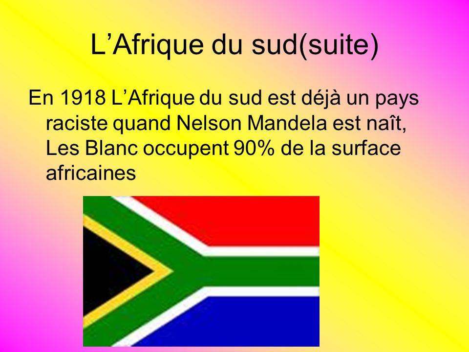 L'Afrique du sud(suite)