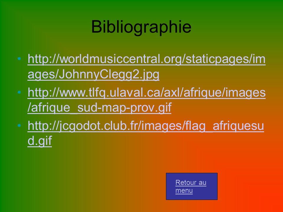 Bibliographie http://worldmusiccentral.org/staticpages/im ages/JohnnyClegg2.jpg.