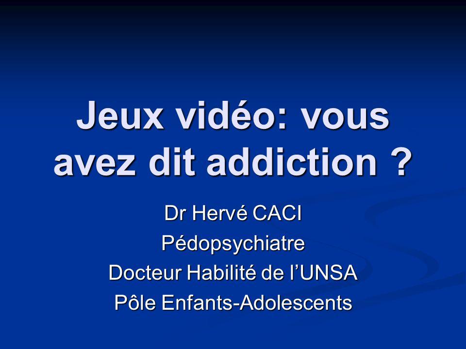 Jeux vidéo: vous avez dit addiction