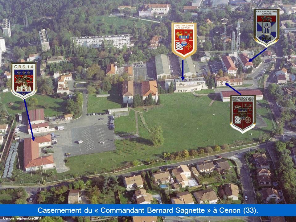 Casernement du « Commandant Bernard Sagnette » à Cenon (33).