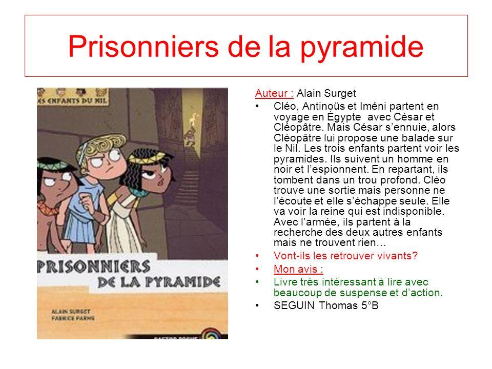Prisonniers de la pyramide