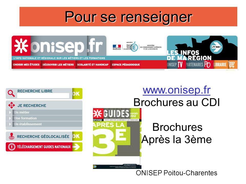 ONISEP Poitou-Charentes