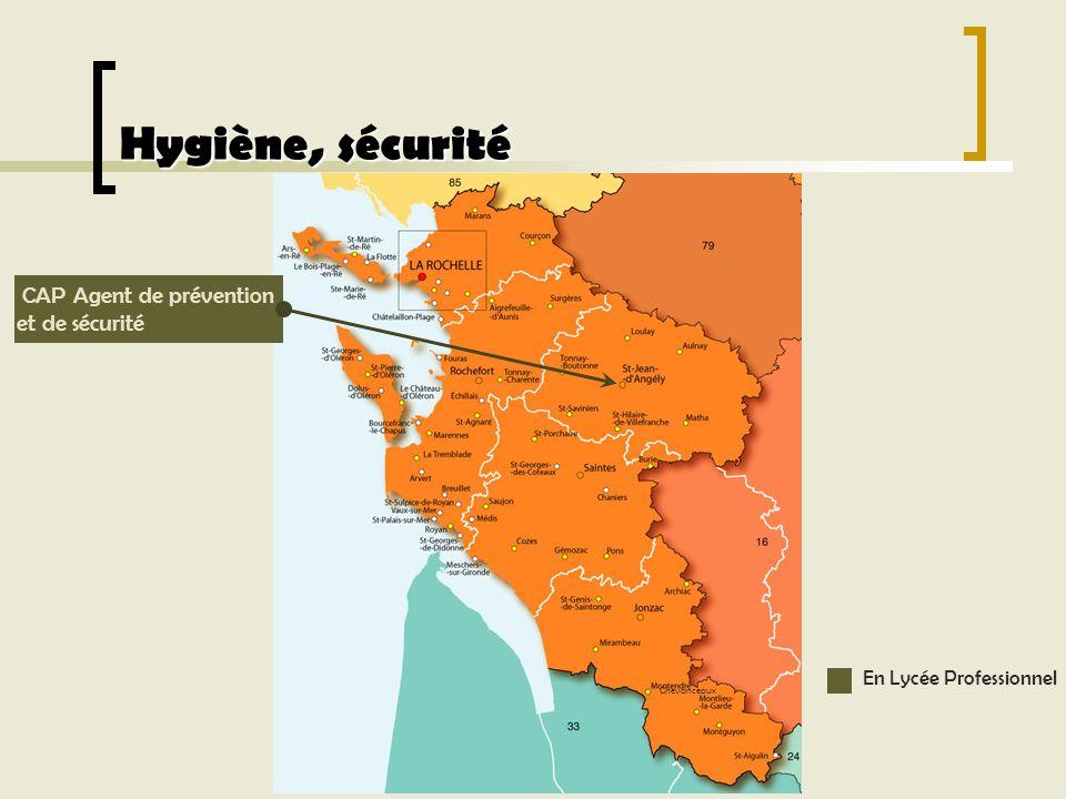 Hygiène, sécurité CAP Agent de prévention et de sécurité