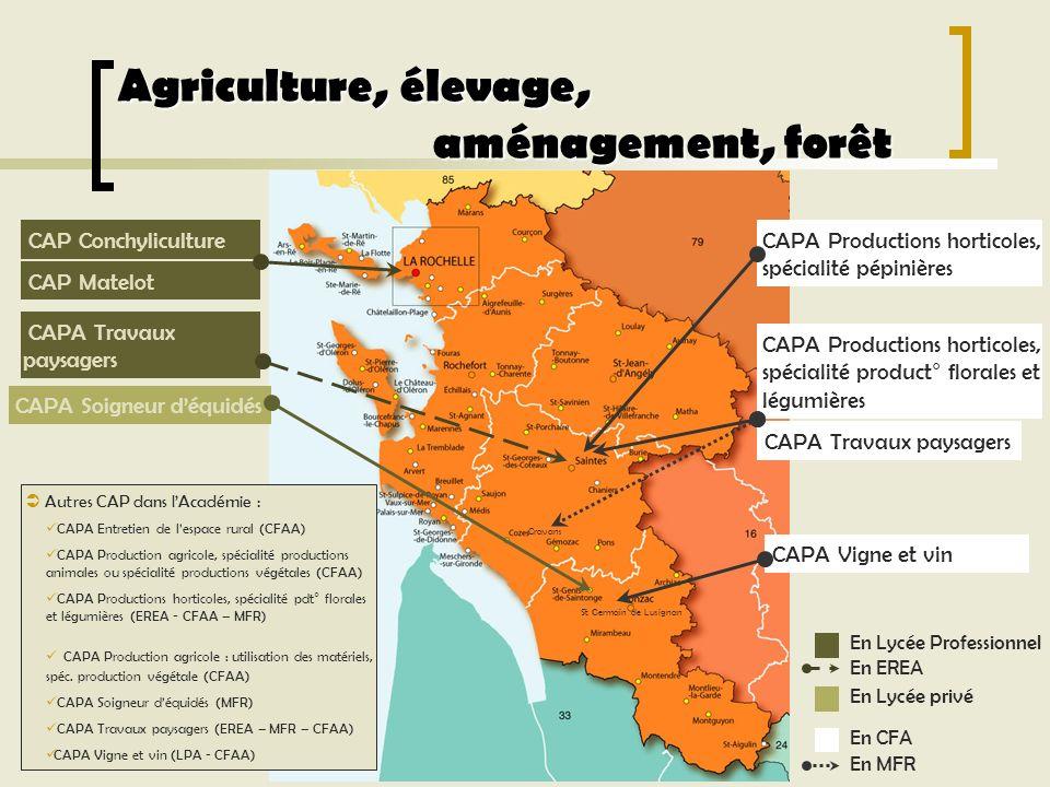 Agriculture, élevage, aménagement, forêt