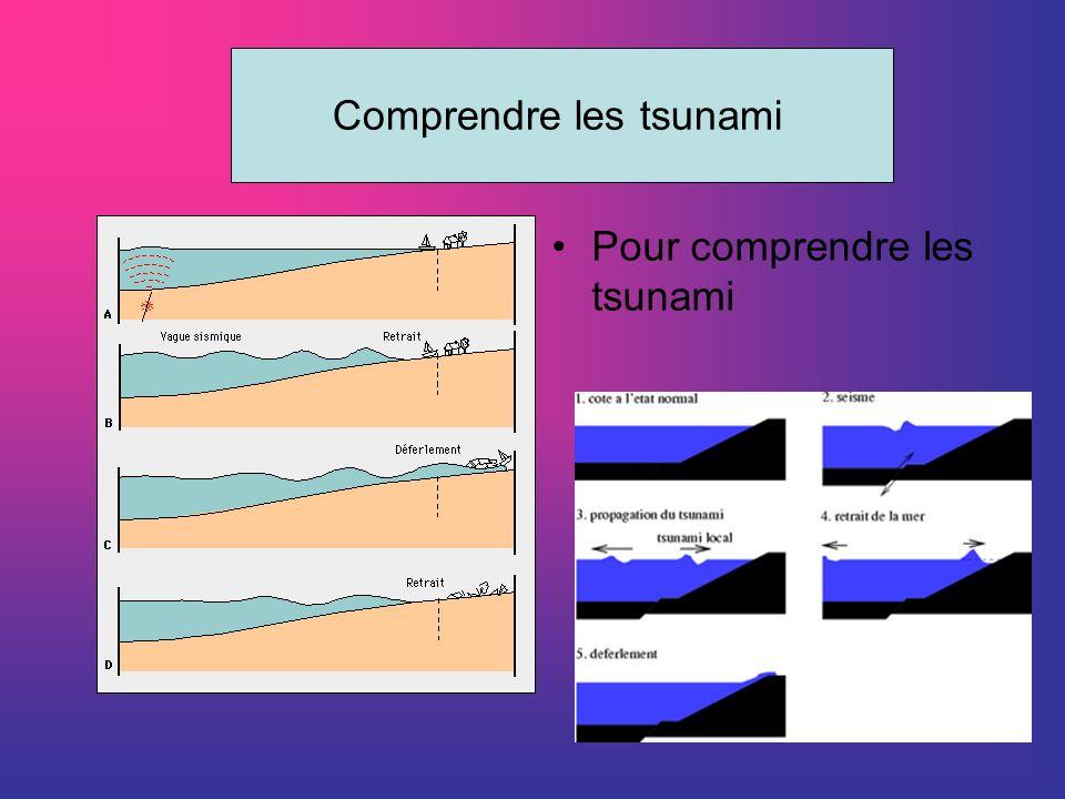 Comprendre les tsunami