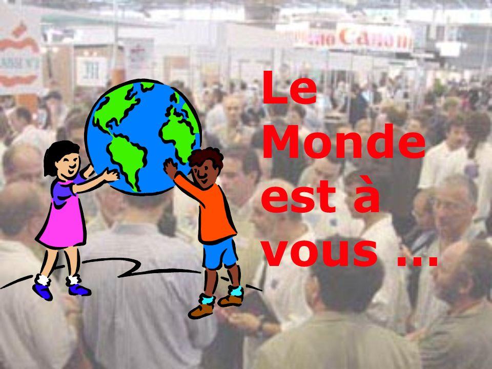 26/03/2017 Le Monde est à vous … Initiation à Internet