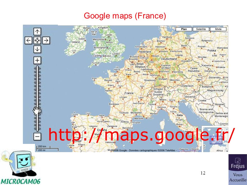 http://maps.google.fr/ Google maps (France) 26/03/2017