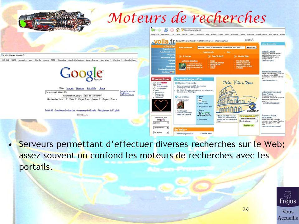 Moteurs de recherches 26/03/2017.