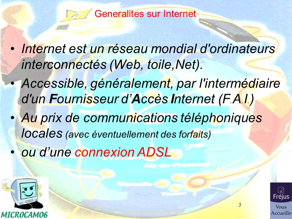 Generalites sur Internet