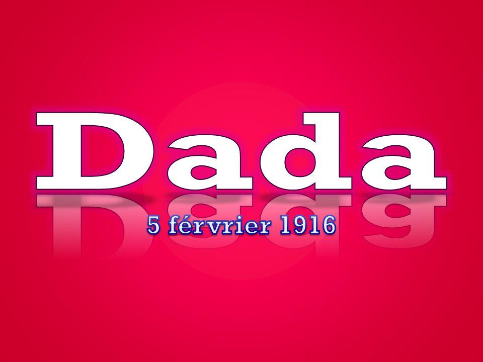 Dada 5 férvrier 1916