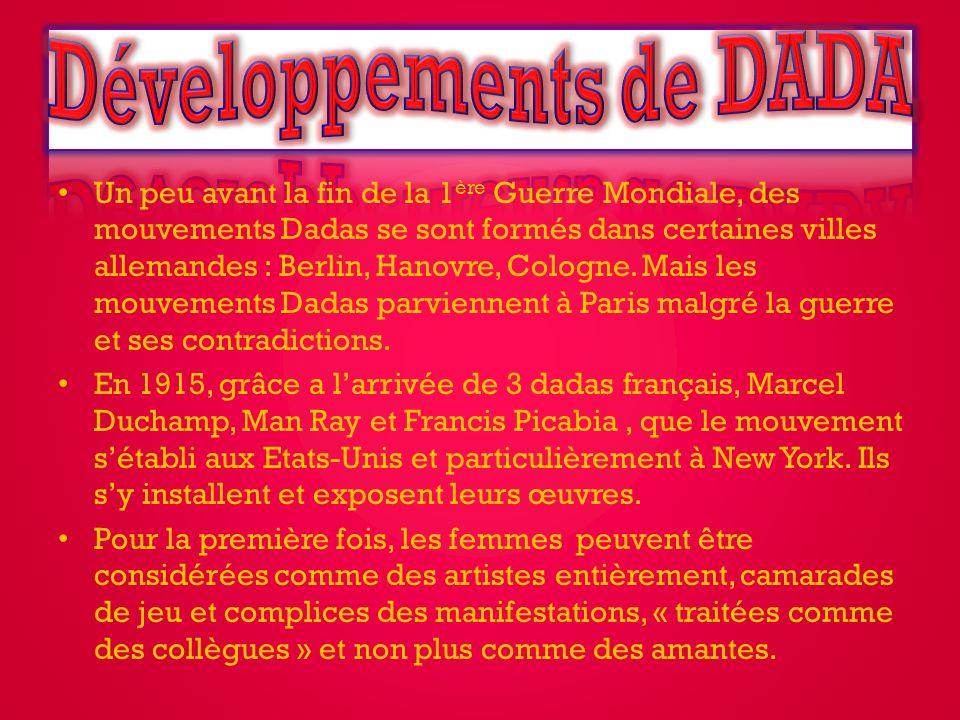 Développements de DADA