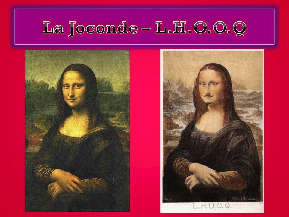 La Joconde – L.H.O.O.Q
