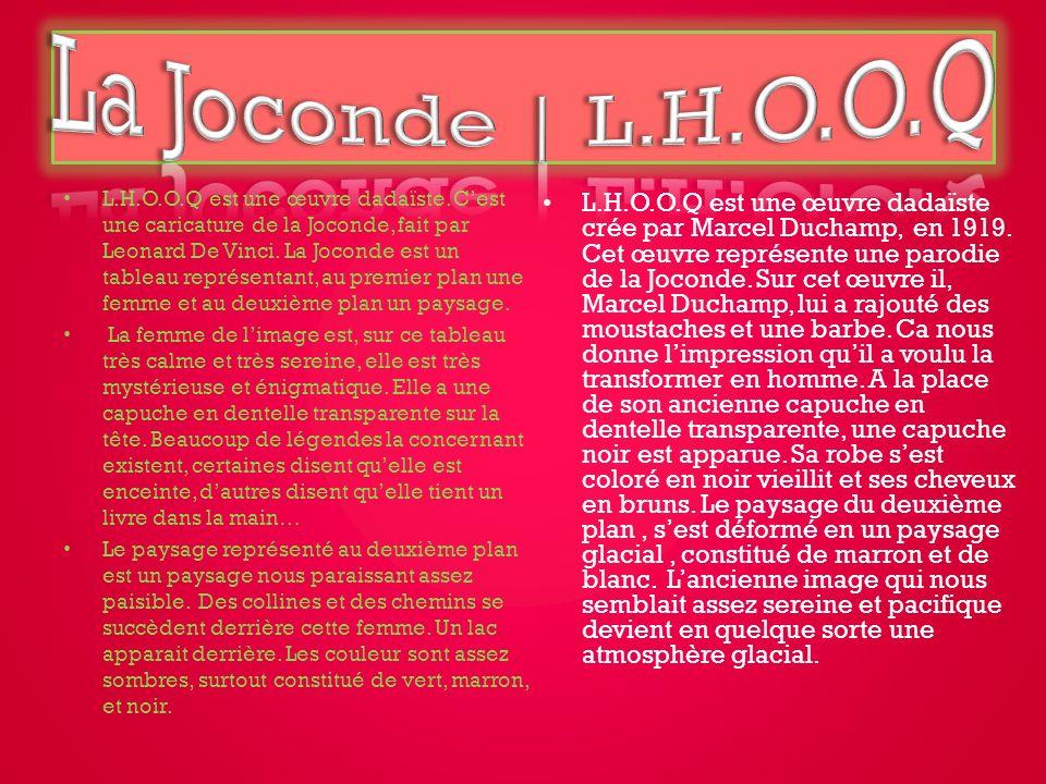 La Joconde | L.H.O.O.Q