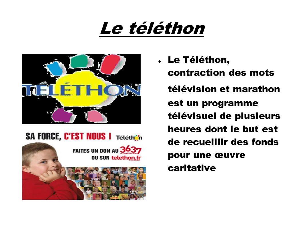 Le téléthon