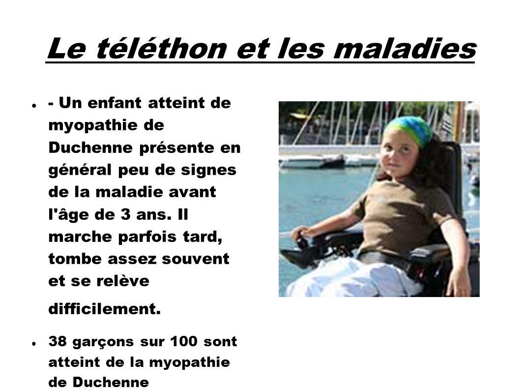 Le téléthon et les maladies