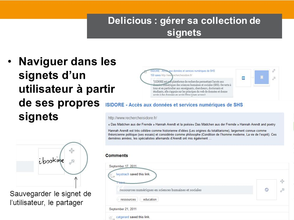 Delicious : gérer sa collection de signets