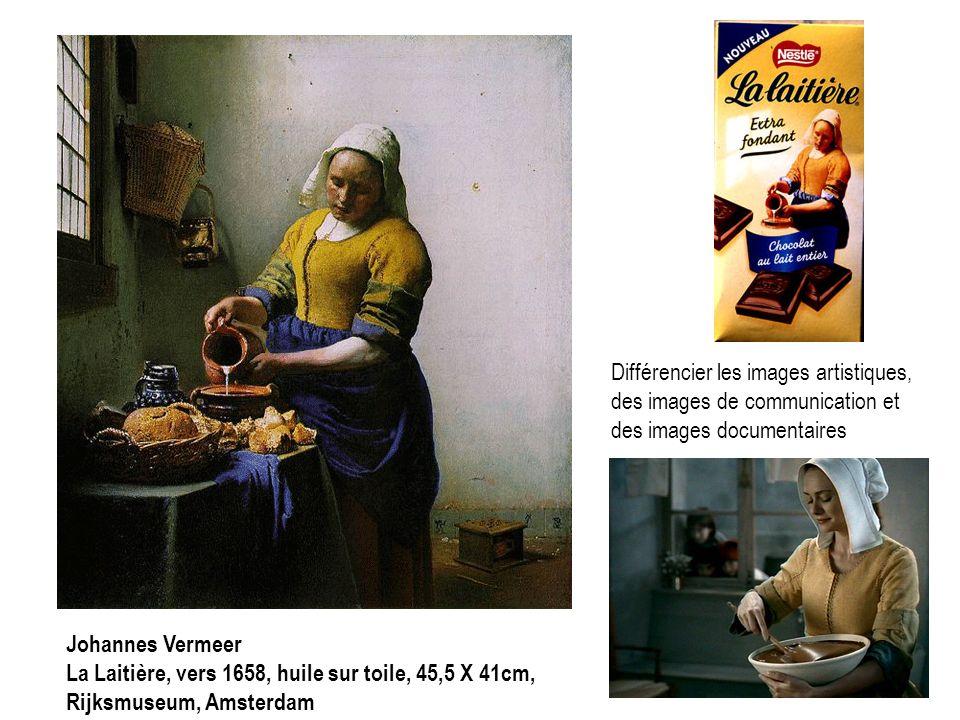 Différencier les images artistiques, des images de communication et des images documentaires