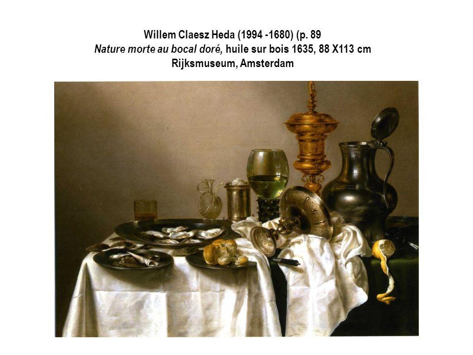 Willem Claesz Heda (1994 -1680) (p. 89