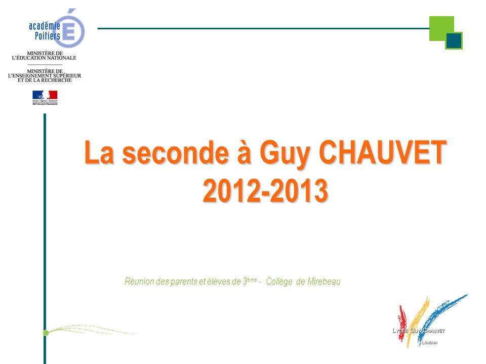 La seconde à Guy CHAUVET 2012-2013