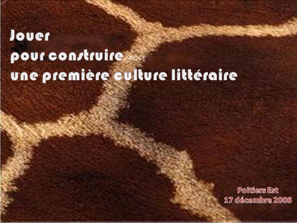 une première culture littéraire