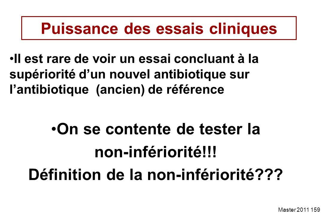 Puissance des essais cliniques