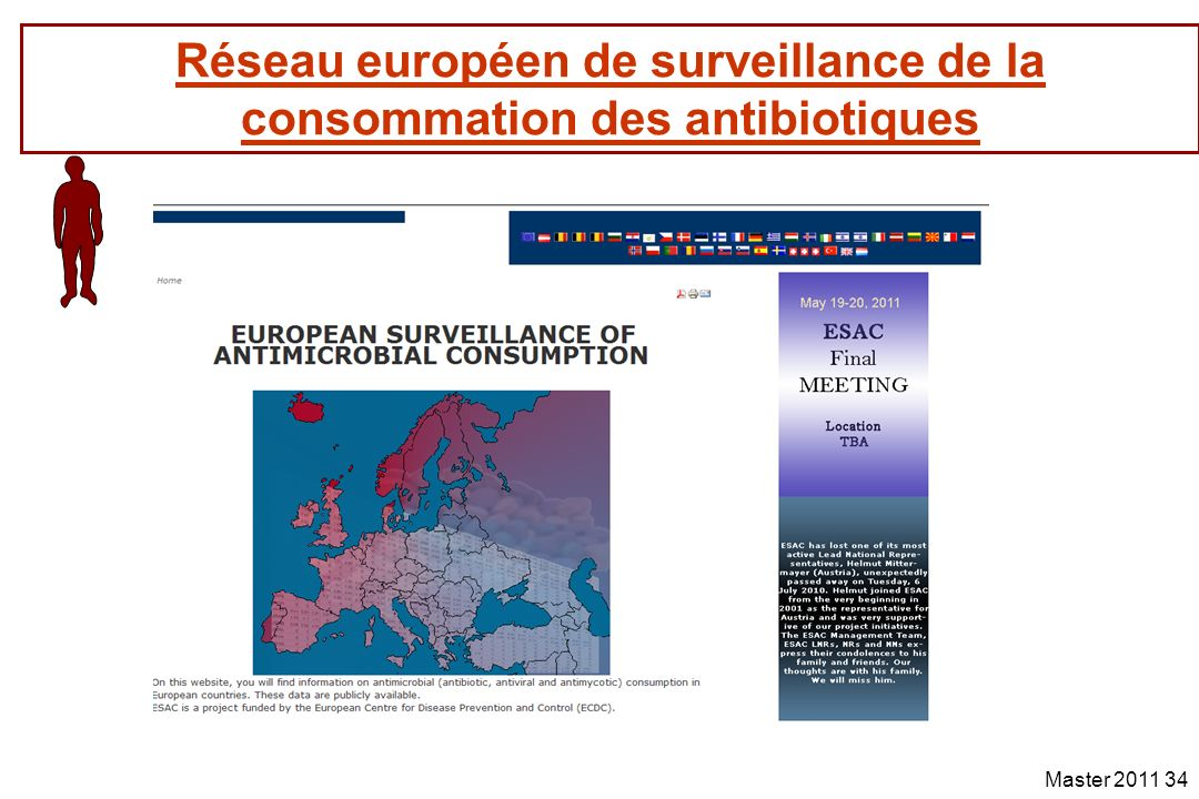 Réseau européen de surveillance de la consommation des antibiotiques