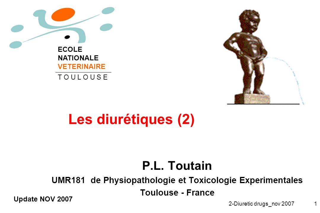 UMR181 de Physiopathologie et Toxicologie Experimentales