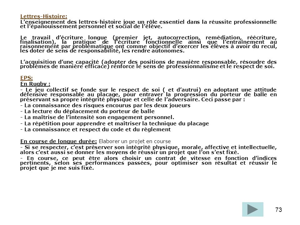 Lettres-Histoire: