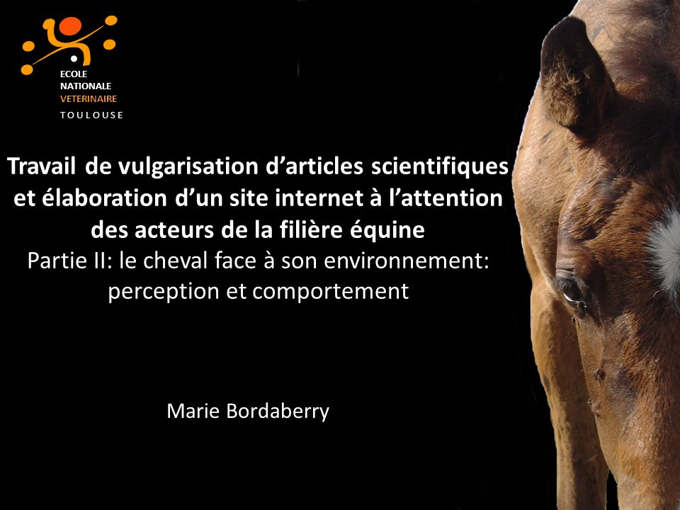 ECOLE NATIONALE. VETERINAIRE. T O U L O U S E.