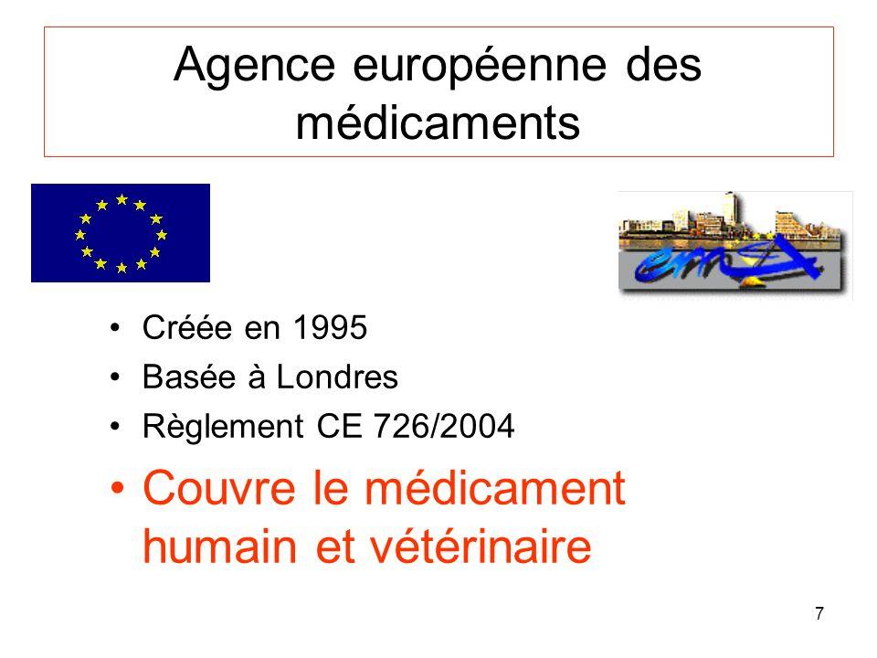 Agence européenne des médicaments