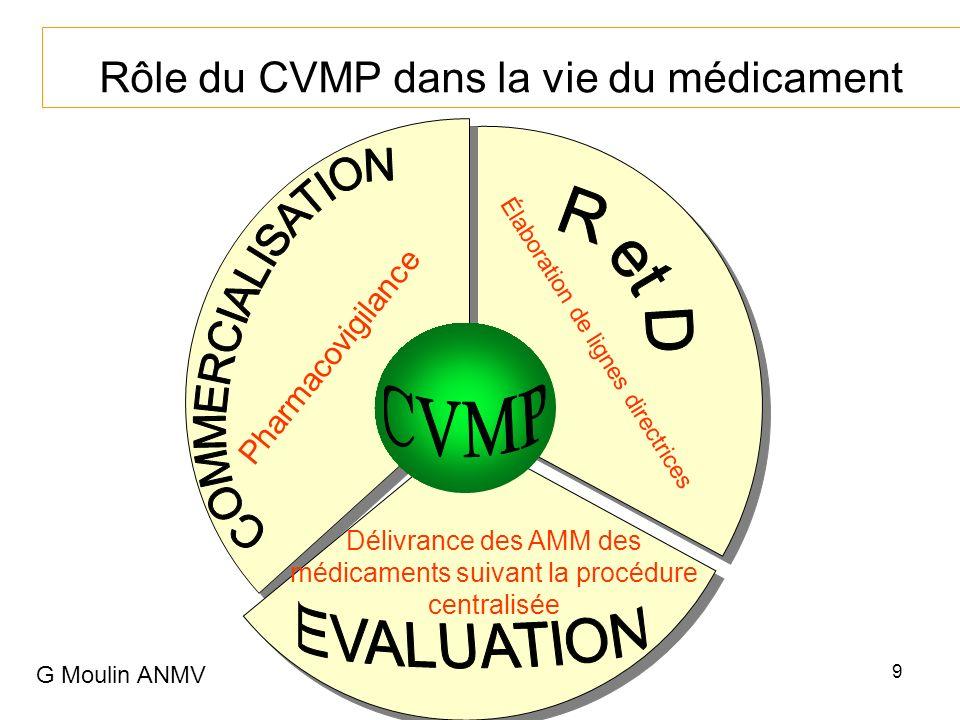 Rôle du CVMP dans la vie du médicament