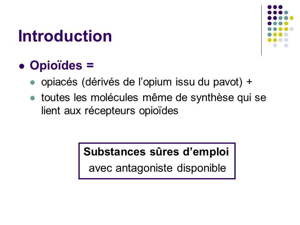 Substances sûres d'emploi