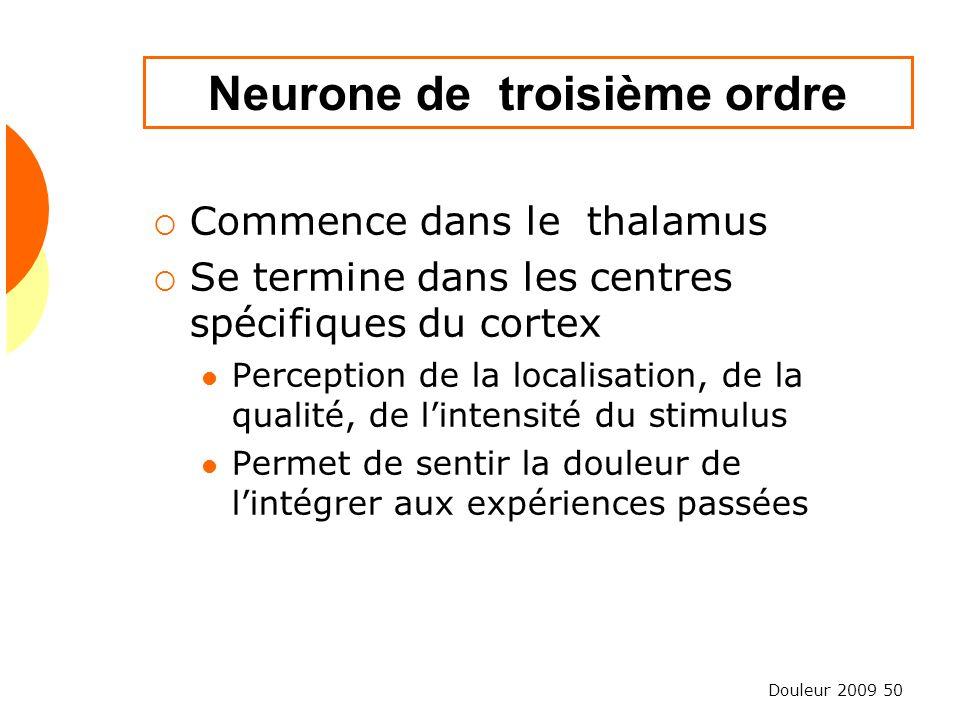 Neurone de troisième ordre