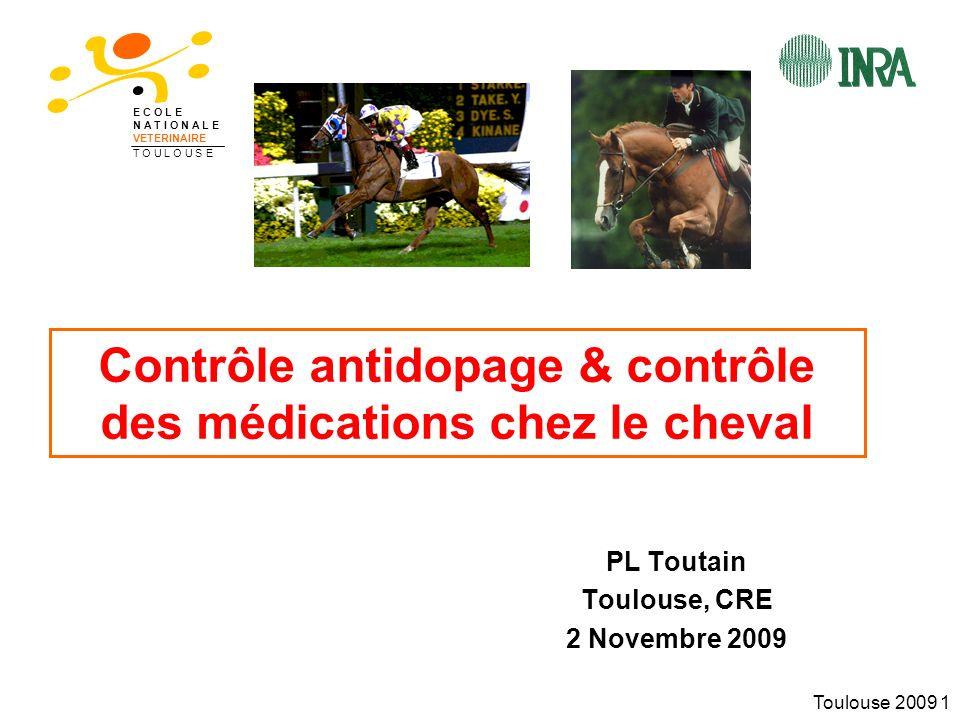 Contrôle antidopage & contrôle des médications chez le cheval
