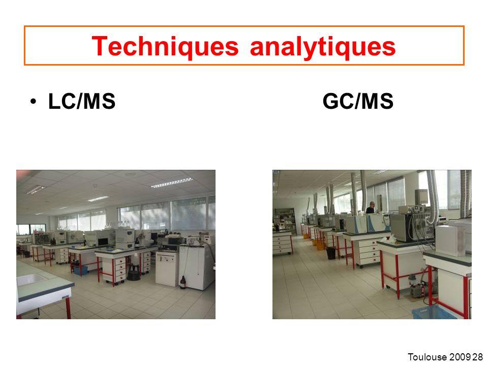 Techniques analytiques